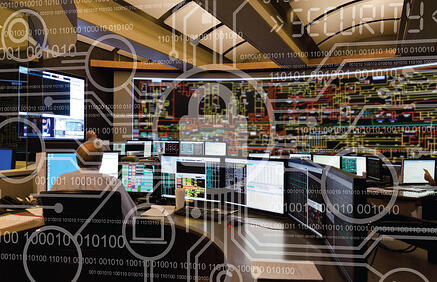 Cybersecurity-Control-Room